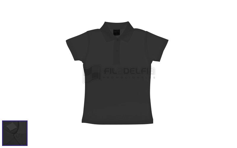 Camiseta tipo polo de dama  ff26371112f30
