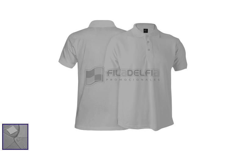 camisetas-polo-gris-melange