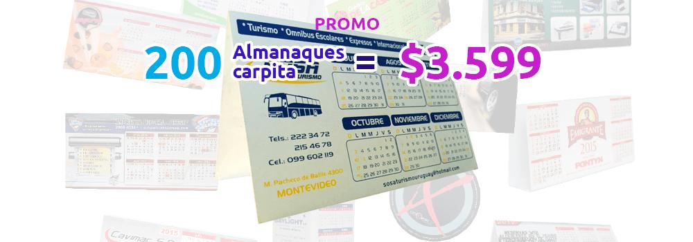 Promo 200 almanaques